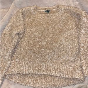 Rose gold sparkly sweater